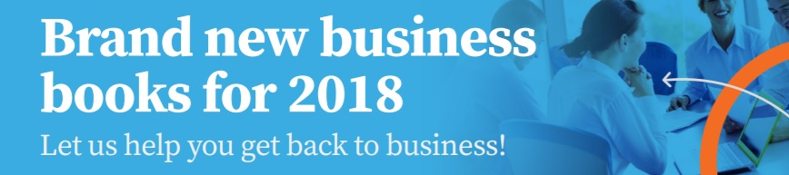 Brand new business books in 2018