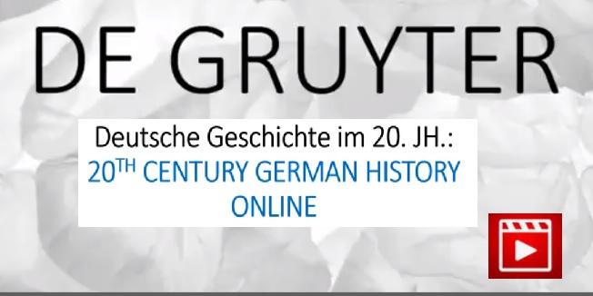 Deutsche Geschichte im 20. Jh. Nationalsozialismus, Holocaust, Widerstand und Exil 1933-1945 Online Video