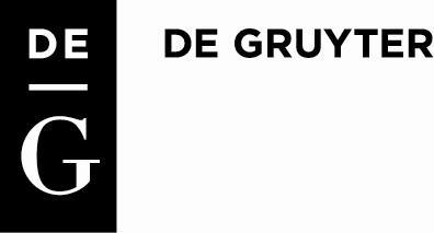 <p>DE GRUYTER</p>